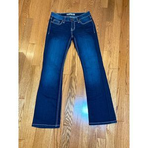 BKE Sabrina Mid Rise Boot Jeans Size